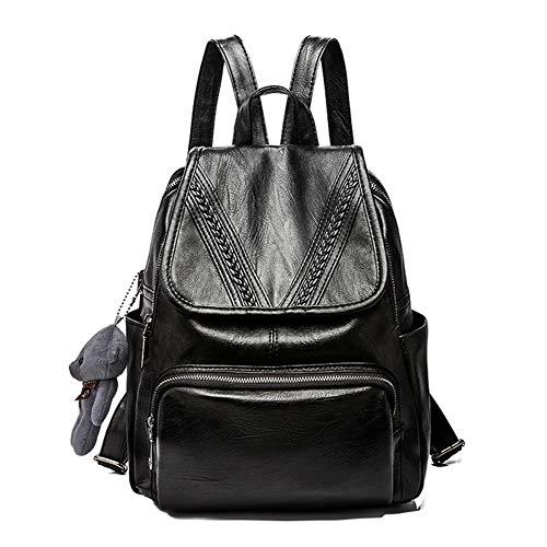 Women Backpack Purse PU Washed Leather Backpack, Mini Backpack Purse for Women