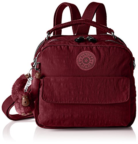 Handle Candy Red 22x19x11 A12 Crimson Womens Kipling Bag 5 Top x cm H x B T qROtAwa