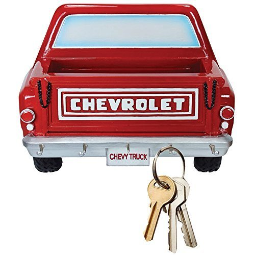 Chevy Pickup Truck 3D Manly Key Rack w/ 5 Hooks And Bed To Hold Small Items from Chevrolet