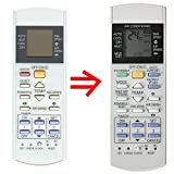 Replacement for Panasonic Air Conditioner Remote Control A75C2913 CWA75C2913