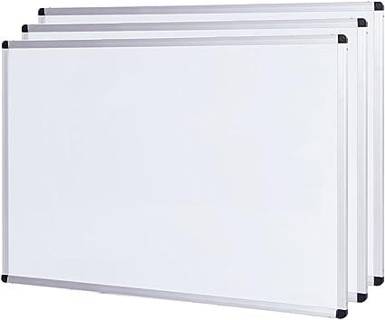 150 x 90 cm VIZ-PRO Lavagna Magnetica cornice in alluminio