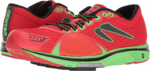 Newton Running Men's Gravity 7 Red/Lime 13 D US (Gravity Running Shoes Newton)