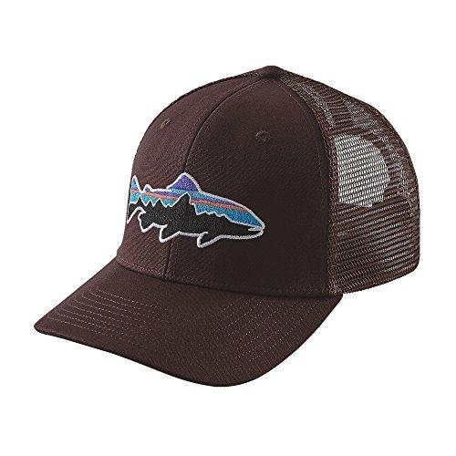 Patagonia Fitz Roy Trout Snapback Hat Wander Brown Mens O...