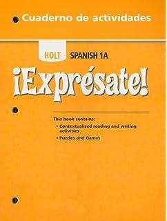 Amazon expresate spanish student edition level 1a exprsate exprsate cuaderno de actividades student edition level 1a fandeluxe Choice Image