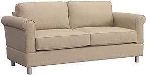 Furniture For Living Gregory RTA Loveseat, Alabaster