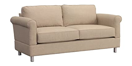 Furniture For Living D1L3 ALA Gregory RTA Loveseat, Alabaster