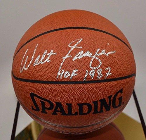 Walt Frazier Autographed Basketball - 7