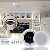 """Pyle Pair 5.25"""" Flush Mount in-Wall in-Ceiling"""
