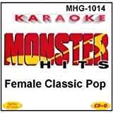 Monster Hits Karaoke #1014 - Female Classic Pop
