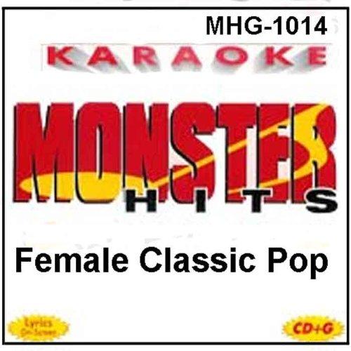 Madonna Karaoke - Monster Hits Karaoke #1014 - Female Classic Pop