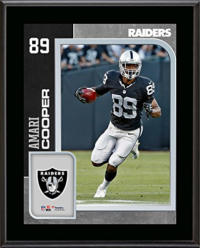 Amari Cooper Oakland Raiders 10.5'' x 13'' Sublimated Player Plaque - Fanatics Authentic Certified - NFL Player Plaques and Collages