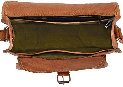 """Umhängetasche Gusti Leder """"Evelyn"""" Damentasche Handtasche Damen-Handtasche Ledertasche Shopping-Tasche Abendtasche Vintage Braun K54b"""