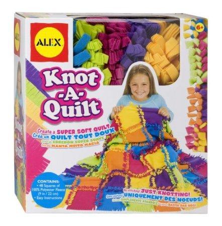 ALEX Toys - Craft, Knot A Quilt Kit, 383WN