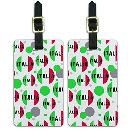 Luggage Suitcase Carry Tags Set