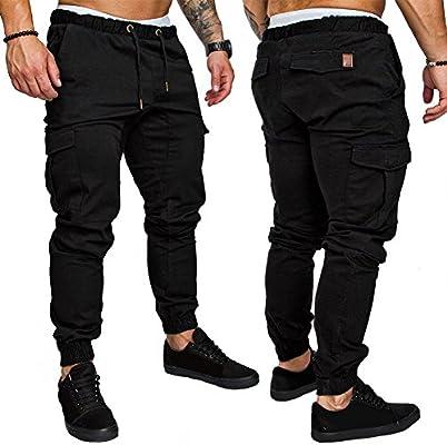 UxradG Fashion - Pantalones de chándal para Hombre, multipuntos ...