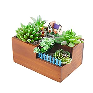 Dandevo 8 Pcs Unpotted Fake Succulent Plants Assorted Realistic Artificial Faux Plastic Silk Greenery Stems in Bulk String of Pearls Hanging Plant for Terrarium Home Wall Decor Large and Small 5
