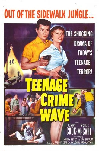 Teen-Age Crime Wave POSTER Movie (27 x 40 Inches - 69cm x 102cm) -