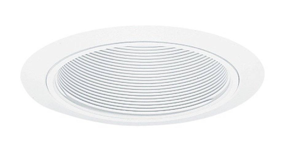 Juno Lighting 205W-WH 5-Inch Downlight Baffle, White with White Trim