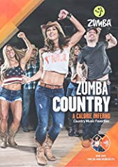 """Burn up the dance floor with Zumba Country feat. two 30-min workoutsA sizzling cardio workout featuring easy-to-follow dance steps set to favorite country chart toppersFeaturing music by: Brooks & Dunn """"Little Miss Honky Tonk"""", Dixie Chic..."""