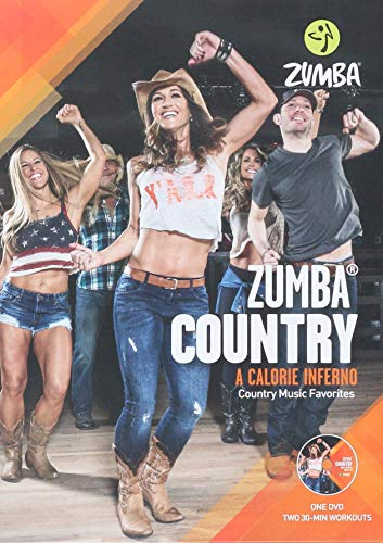- Zumba Country Dance Fitness Music Workout DVD