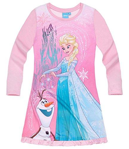 Disney Die Eiskönigin Elsa & Anna Mädchen Nachthemd - rosa - 128