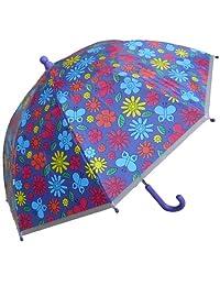 RainStoppers 34-inch Children's Plastic Cloud Print Umbrella