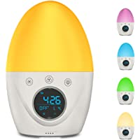 FiveHome Wake-Up Light Alarm Clock with 3 Alarm Mode