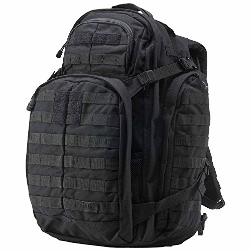 5.11 RUSH72 Tactical Backpack Large with 20 Compartments, MOLLE, SlickStick, Hydration Pocket, Comms Ready for Active Duty Military, Hunting, Recreation or Bug Out Bag - Style# 58602