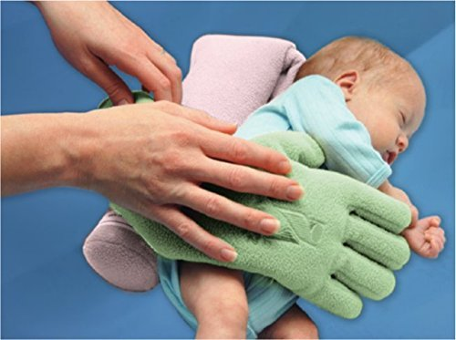 The Zaky Bonding & Positioning by Nurtured by Design - Color: Cream - One Pair– Ergonomic Sleeping Support with Washing Bag- Excellent Physical & Psychological Support for Preemies & Infants