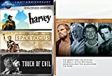 Christian Hollywood Classics - Spartacus, The Agony and the Ecstasy, The Bible...In the Beginning, Demetrius and the Gladiators, & The Robe with Harvey & Touch of Evil bonus 7-Movie DVD Bundle