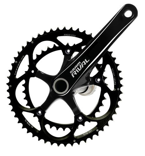 SRAM Rival OCT GXP 165mm 53-39T Rival OCT Standard Crankset with BB ()