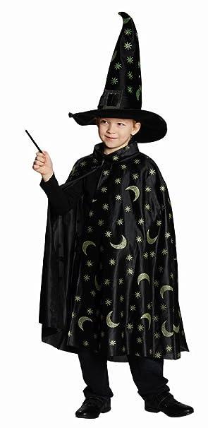 Rubie S Kinder Kostum Zauberer Umhang Karneval Fasching Halloween Gr