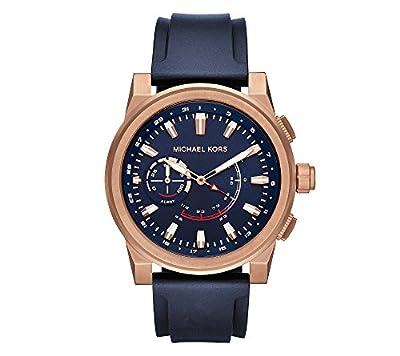 Michael Kors Men's Goldtone Grayson Hybrid Watch from Michael Kors