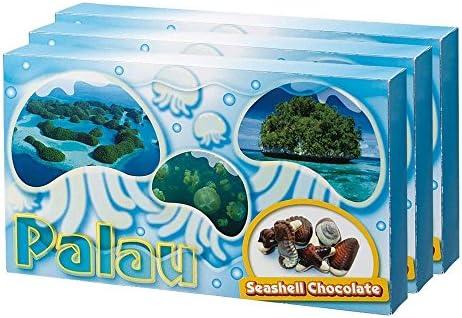 [賞味8/16] パラオお土産 シーシェルチョコレート 10粒入り×3箱セット