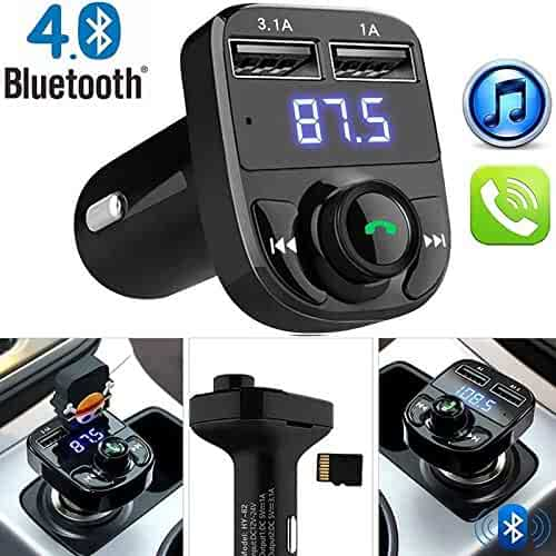 Audio & Video Accessories FidgetFidget Bluetooth Wireless FM Transmitter Modulator