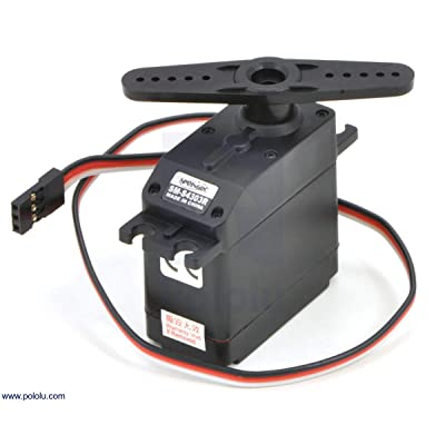 """Pololu 1248 Continuous Rotation Servo Motor, 5.1 kg-cm 6V, 11"""" Leads, 1.56"""" x 0.81"""" x 1.65"""" Size: Industrial & Scientific"""
