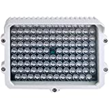 CMVision IR110-114 LED Indoor/Outdoor Long Range 200-300ft IR Illuminator With Free 2A 12VDC Adaptor ( New Version has LUX ON & OFF Switch