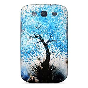 New Galaxy S3 Case Cover Casing(blue Tree 907)