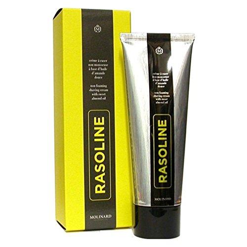 Price comparison product image Rasoline Shaving Cream by Molinard 4.33 oz / 130 ml Non-Foaming New in Retail Box
