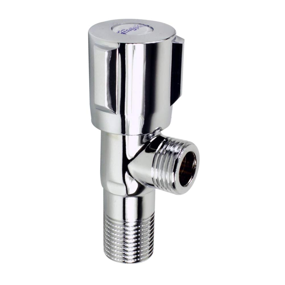 Bathroom Angle Stainless Steel Thickened Hot Cold Water Shut Off for
