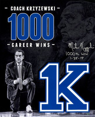 1000 wins coach k - 3