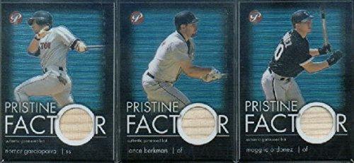 2003 Topps Pristine Factor Game-Used Bat Card Relics #MO Magglio Ordonez Game-Used Memorabilia Card