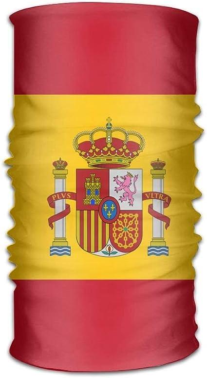 Bandera de España Unisex Deportes Variedad Bufanda Cabeza Bufanda: Amazon.es: Belleza