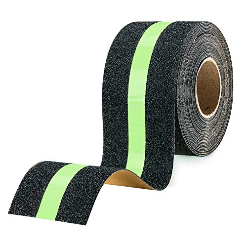 EBUNG Anti-Slip Stair Grip Tape – Glow-in-the-dark 14' S