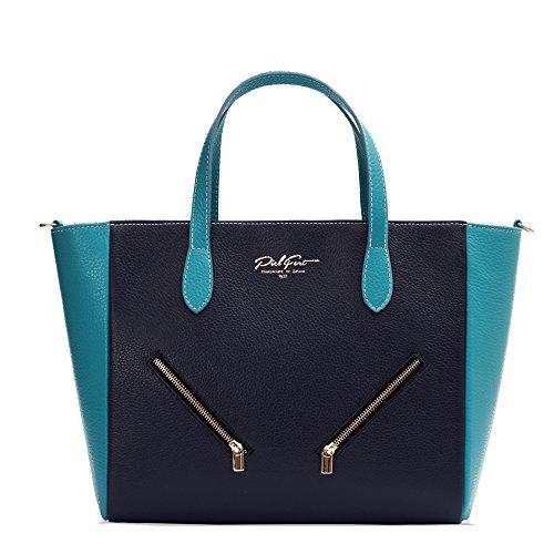 PielFort Queens Marino Bolso Celeste Azul Azul pTYwqwA