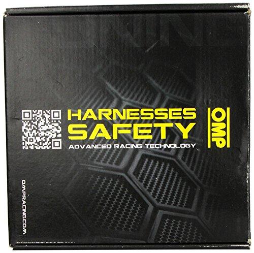 OMP (DA505071) Road 4 Racing Seat Belt Harness, Black