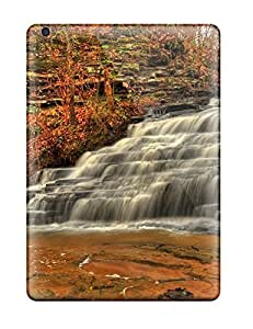 New JFEFQOH1145yUWyC Waterfall Skin Case Cover Shatterproof Case For Ipad Air