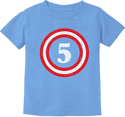 Designer Little Captain Boys Printed T-Shirt Size 5-6 years