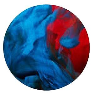 alfombrilla de ratón salpicaduras de pintura abstracta - ronda - 20cm