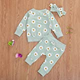 0-24M Flower Newborn Infant Baby Girl Clothes Set